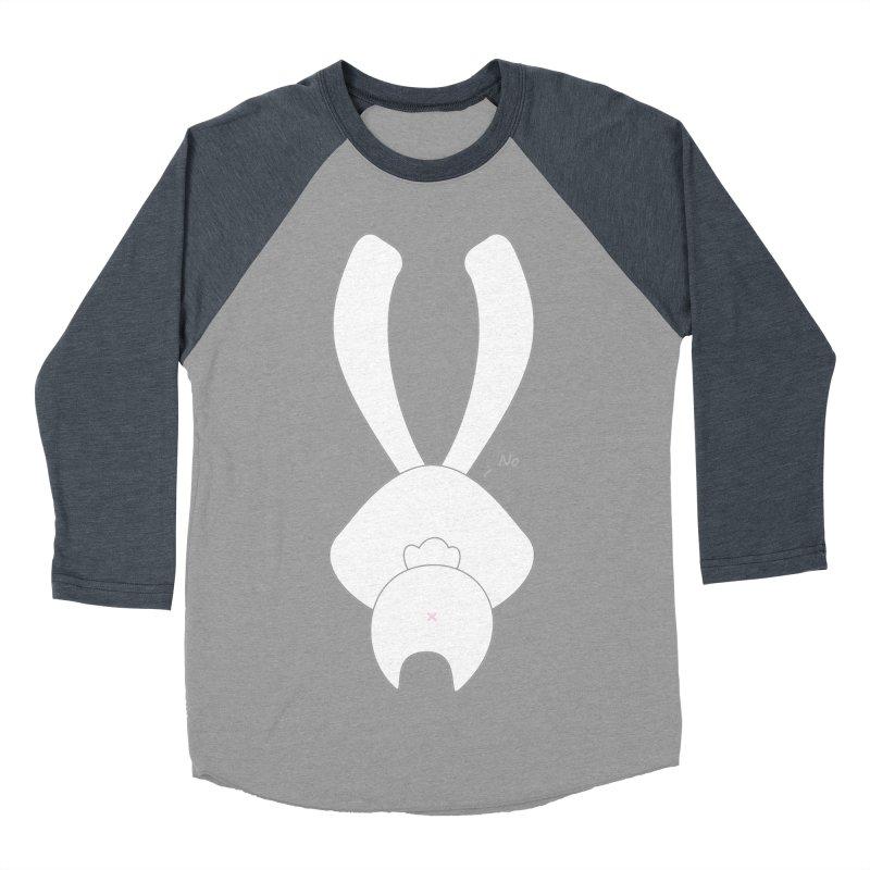 Refuse Women's Baseball Triblend T-Shirt by 1001 bunnies