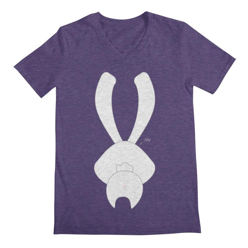 Refuse Men's V-Neck by 1001 bunnies