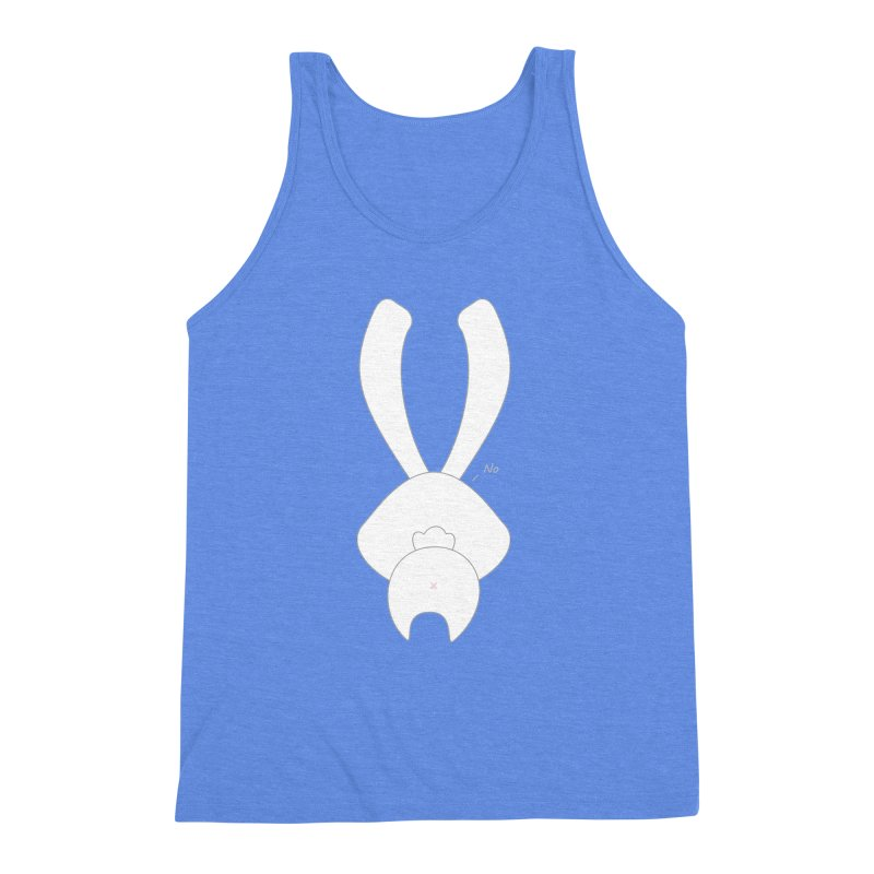 Refuse Men's Triblend Tank by 1001 bunnies