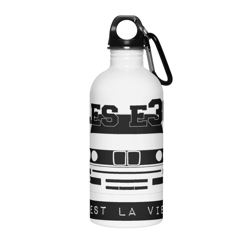 Les E30 c'est la vie Accessories Water Bottle by 100% Pilote
