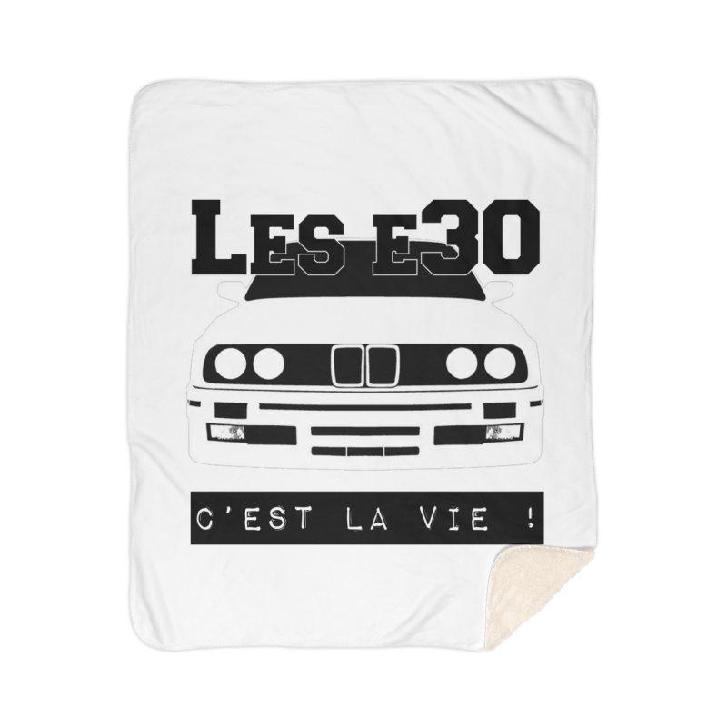 Les E30 c'est la vie Home Sherpa Blanket Blanket by 100% Pilote