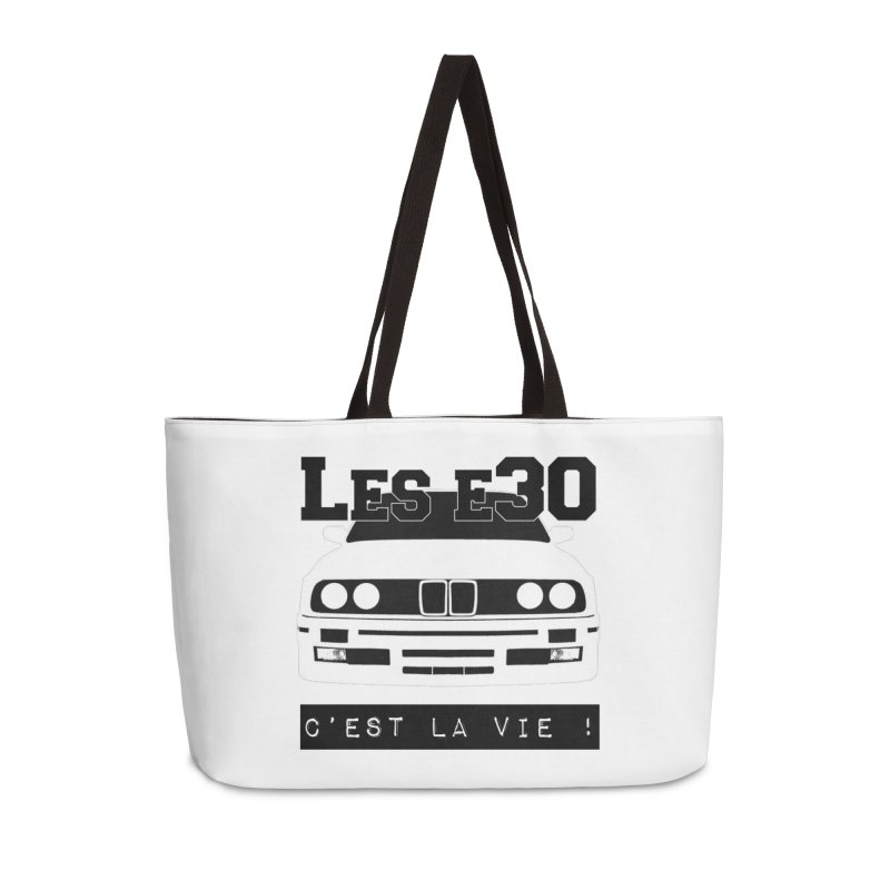 Les E30 c'est la vie Accessories Weekender Bag Bag by 100% Pilote