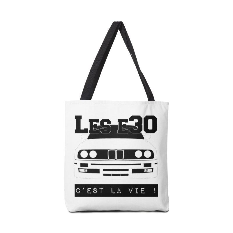 Les E30 c'est la vie Accessories Tote Bag Bag by 100% Pilote
