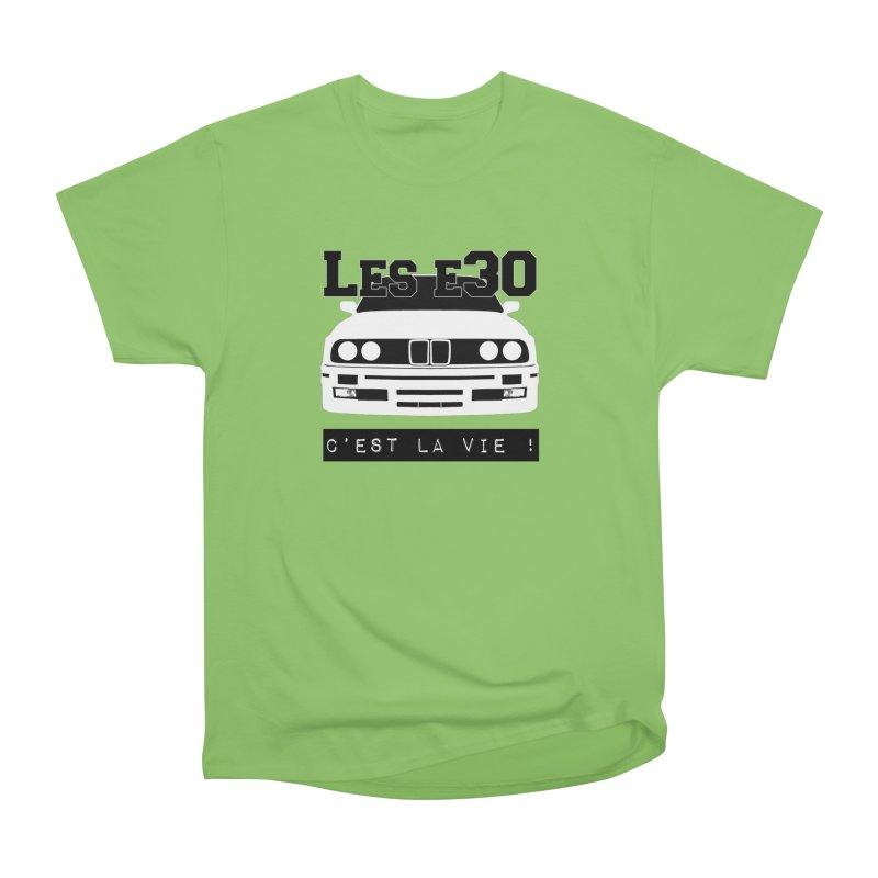 Les E30 c'est la vie Men's Heavyweight T-Shirt by 100% Pilote