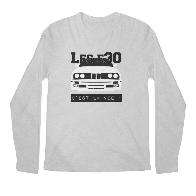 Les E30 c'est la vie Men's Regular Longsleeve T-Shirt by 100% Pilote