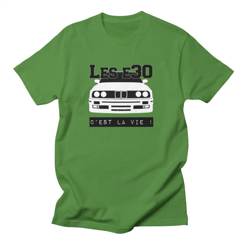 Les E30 c'est la vie Men's Regular T-Shirt by 100% Pilote