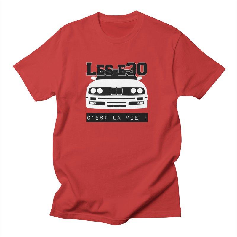 Les E30 c'est la vie Men's Regular T-Shirt by 100% Pilote