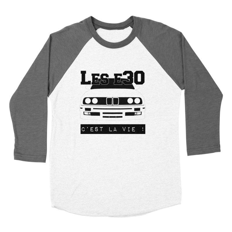 Les E30 c'est la vie Women's Baseball Triblend Longsleeve T-Shirt by 100% Pilote