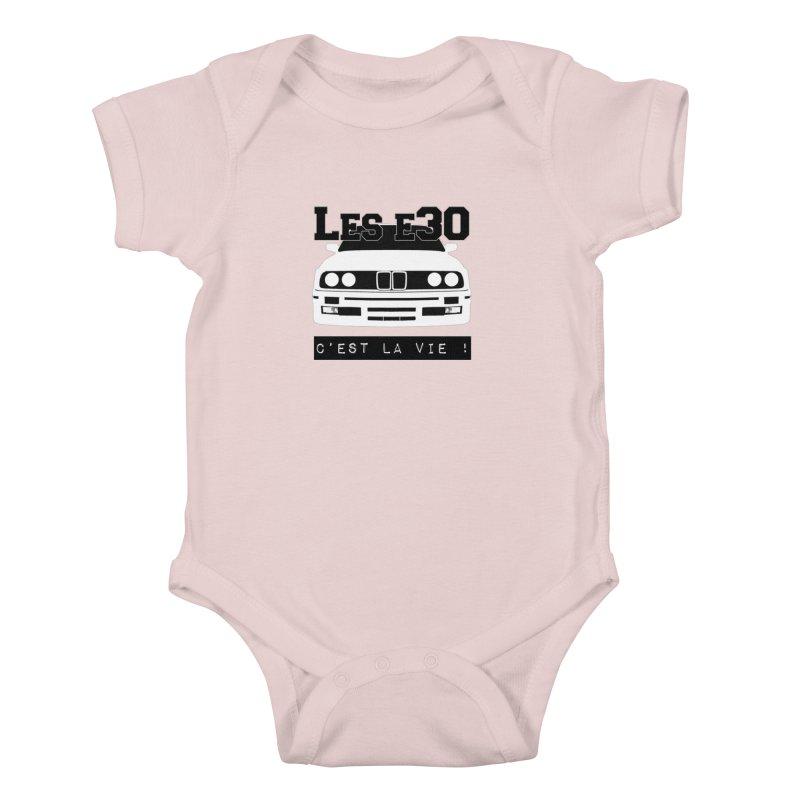 Les E30 c'est la vie Kids Baby Bodysuit by 100% Pilote
