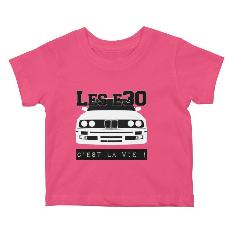 Les E30 c'est la vie Kids Baby T-Shirt by 100% Pilote
