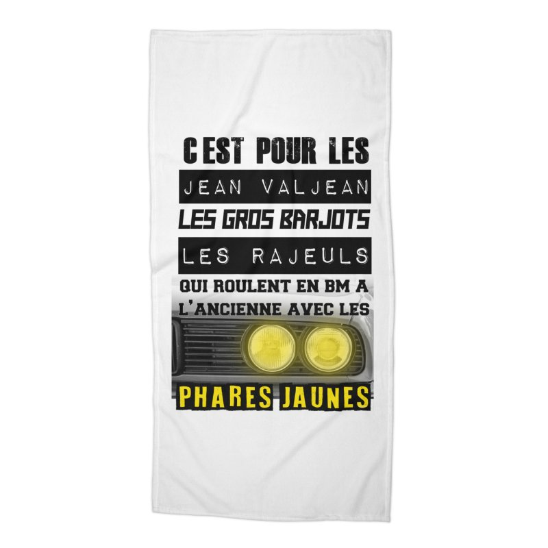 C'est pour les Jean Valjean Accessories Beach Towel by 100% Pilote