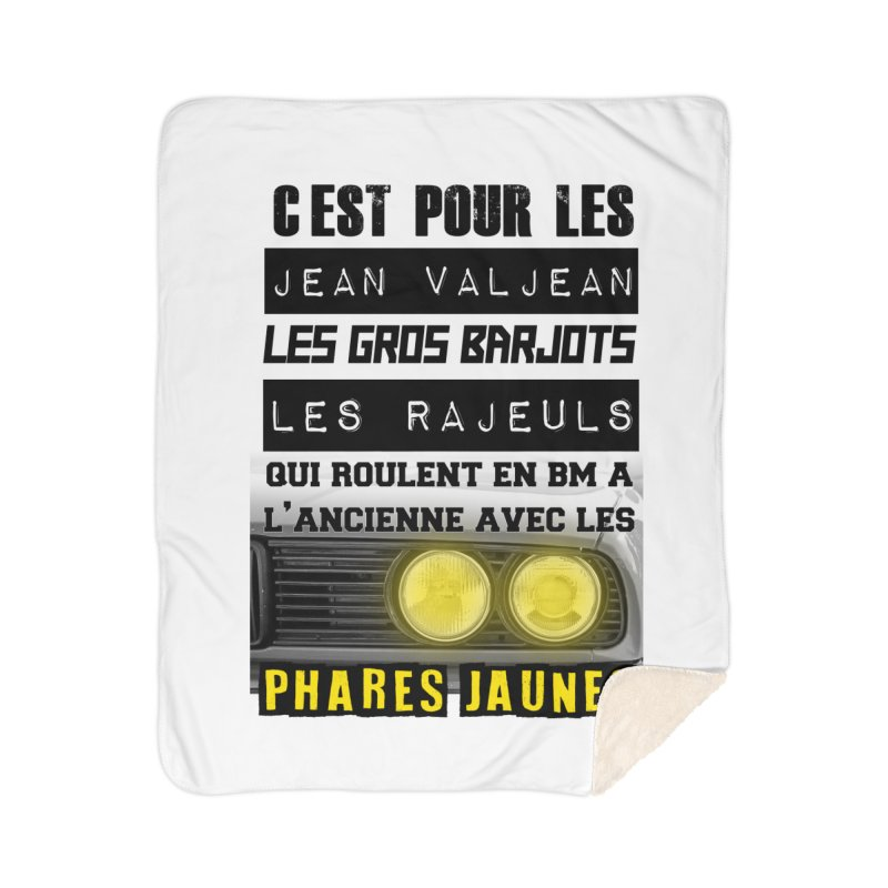 C'est pour les Jean Valjean Home Sherpa Blanket Blanket by 100% Pilote