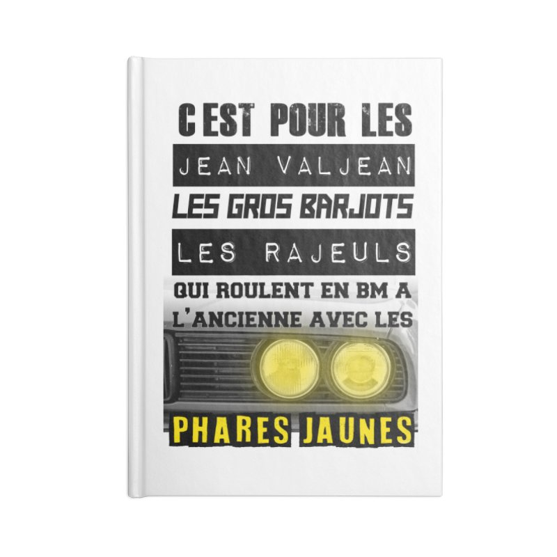 C'est pour les Jean Valjean Accessories Blank Journal Notebook by 100% Pilote