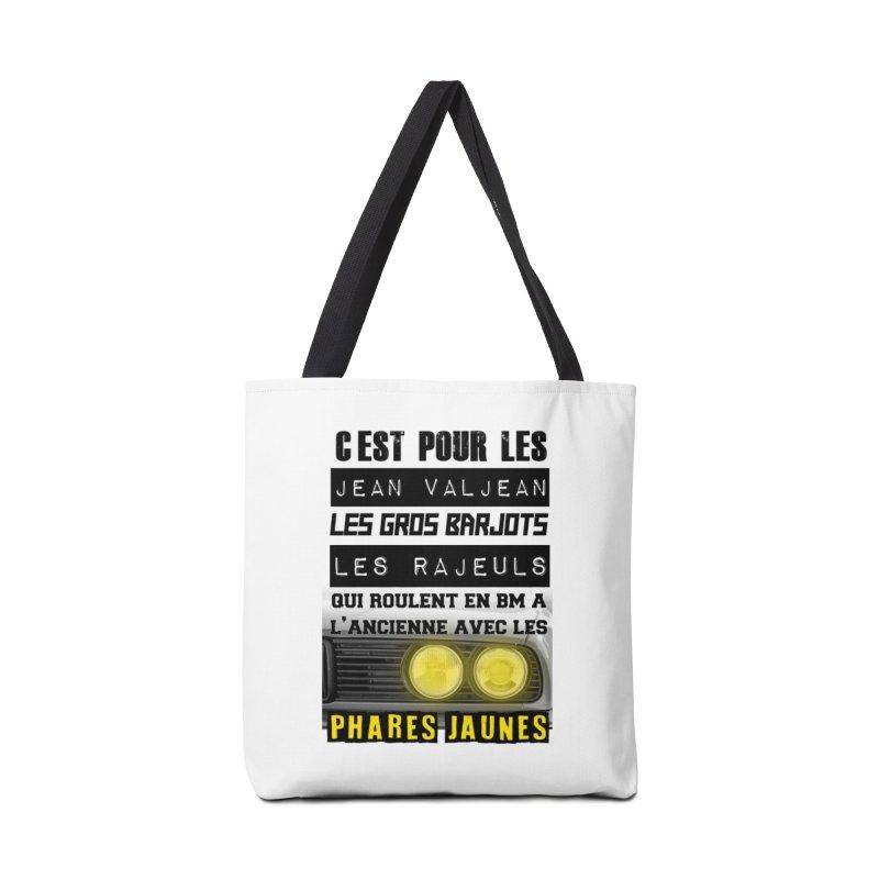 C'est pour les Jean Valjean Accessories Tote Bag Bag by 100% Pilote