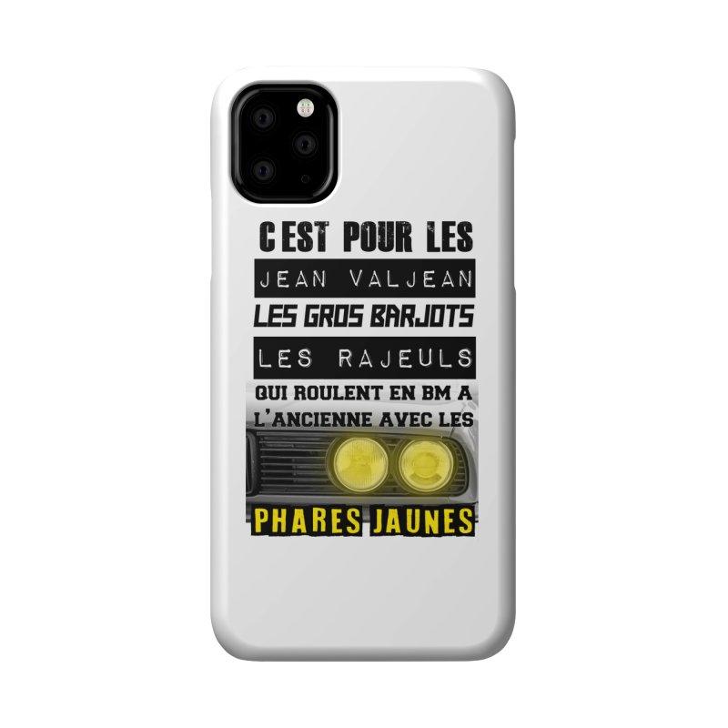 C'est pour les Jean Valjean Accessories Phone Case by 100% Pilote