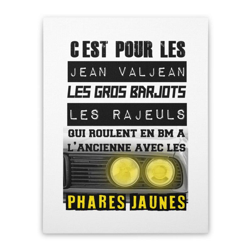 C'est pour les Jean Valjean Home Stretched Canvas by 100% Pilote