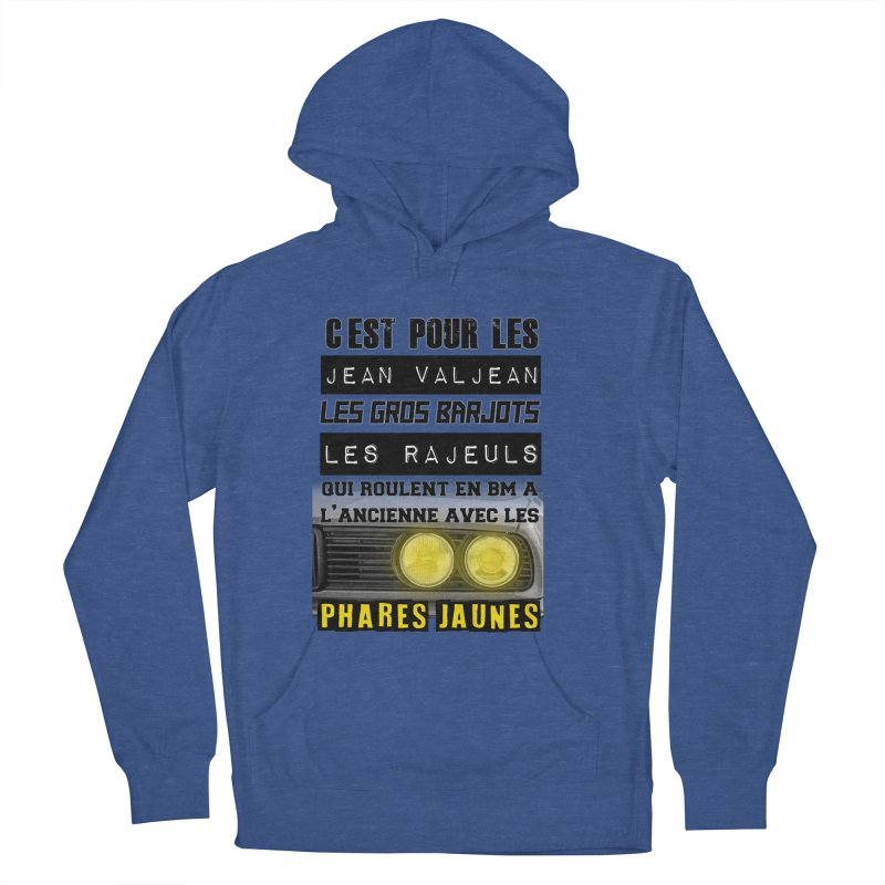 C'est pour les Jean Valjean Women's French Terry Pullover Hoody by 100% Pilote