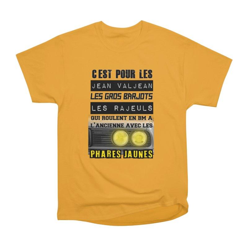 C'est pour les Jean Valjean Women's Heavyweight Unisex T-Shirt by 100% Pilote