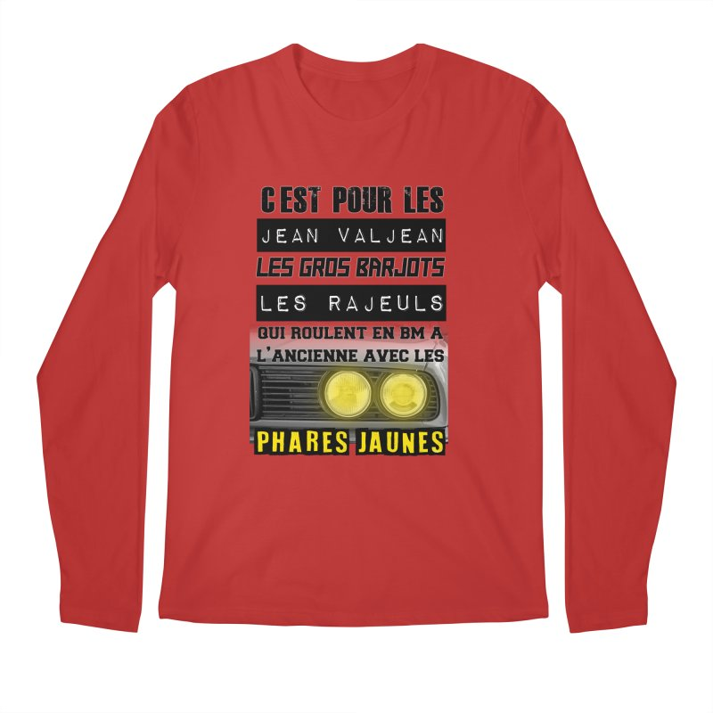 C'est pour les Jean Valjean Men's Regular Longsleeve T-Shirt by 100% Pilote