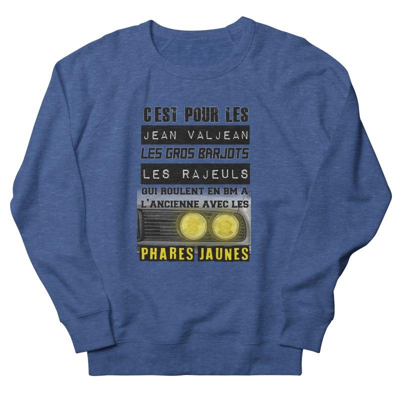 C'est pour les Jean Valjean Men's French Terry Sweatshirt by 100% Pilote