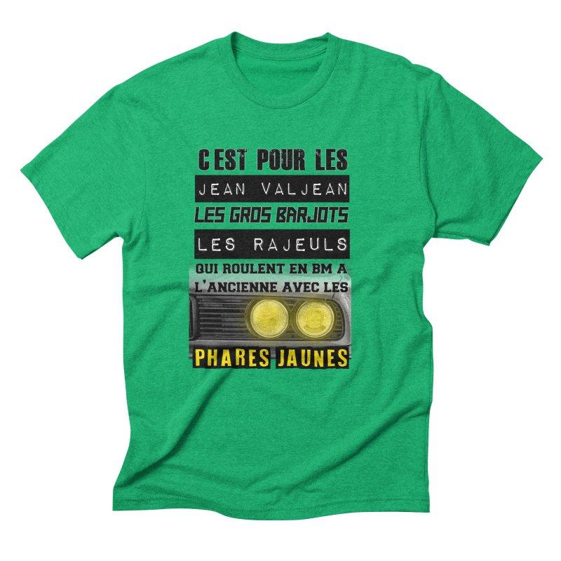 C'est pour les Jean Valjean Men's Triblend T-Shirt by 100% Pilote