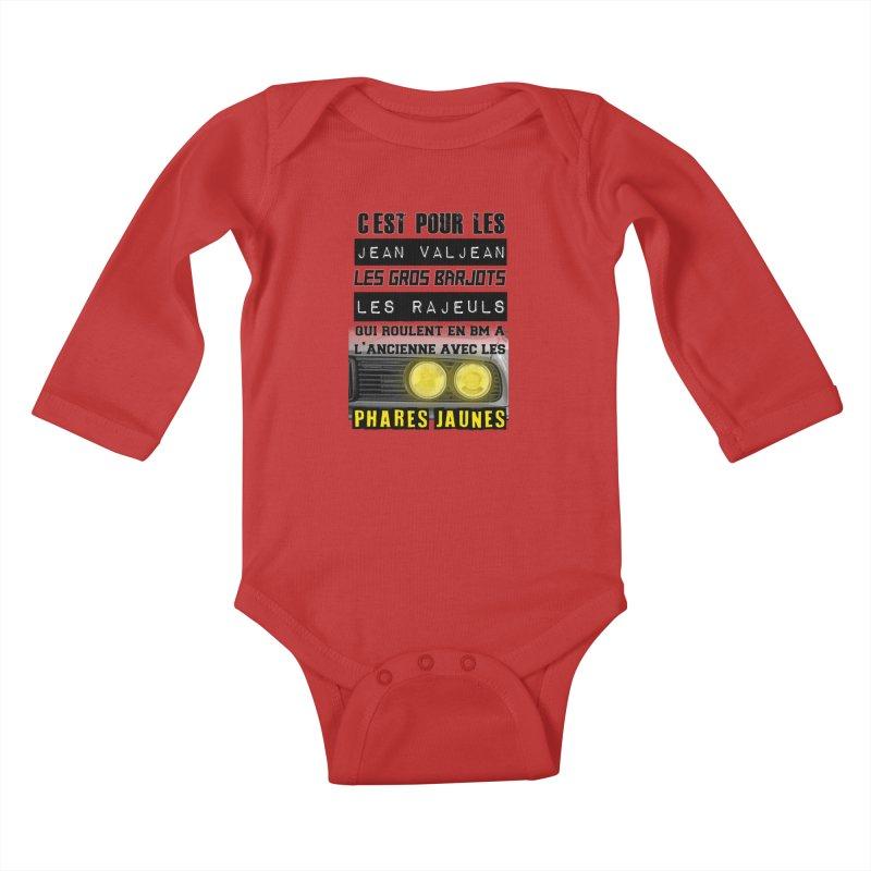 C'est pour les Jean Valjean Kids Baby Longsleeve Bodysuit by 100% Pilote