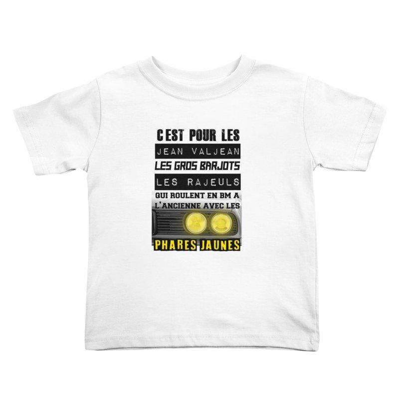 C'est pour les Jean Valjean Kids Toddler T-Shirt by 100% Pilote