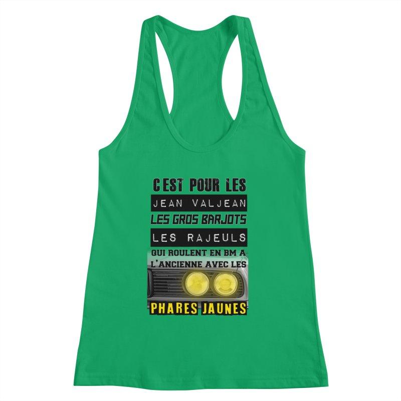 C'est pour les Jean Valjean Women's Tank by 100% Pilote