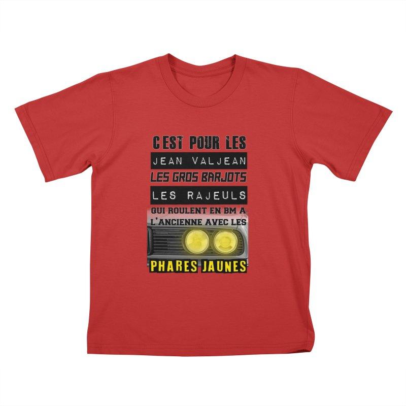 C'est pour les Jean Valjean Kids T-Shirt by 100% Pilote