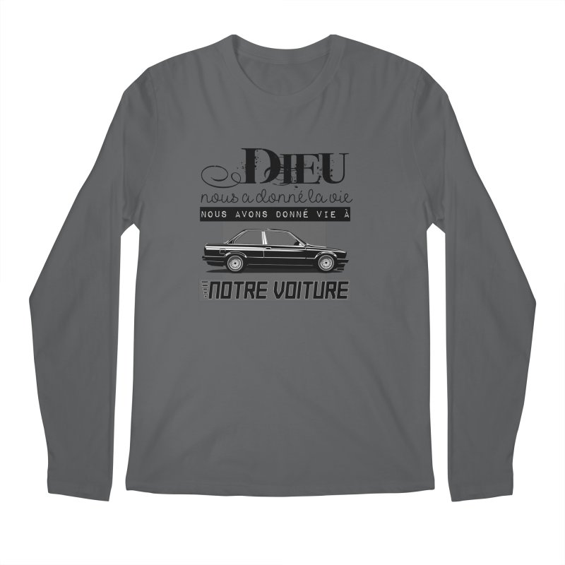 Dieu nous a donné la vie Men's Regular Longsleeve T-Shirt by 100% Pilote