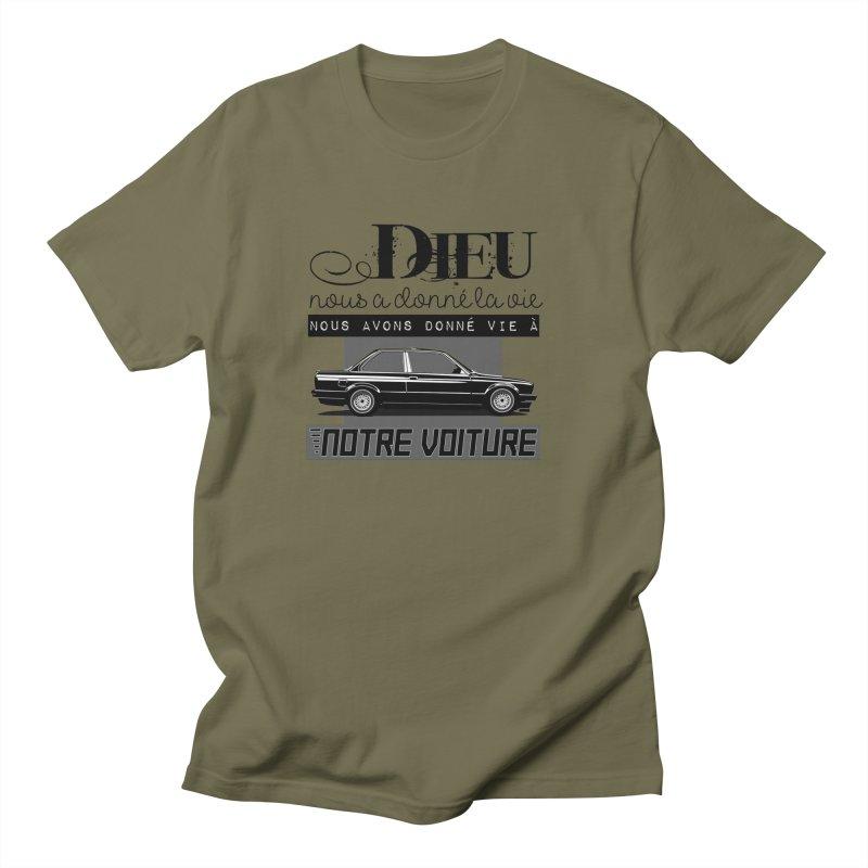 Dieu nous a donné la vie Men's Regular T-Shirt by 100% Pilote