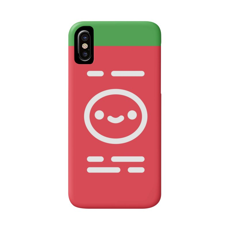 Sriracha Friend in iPhone X / XS Phone Case Slim by 100% Soft