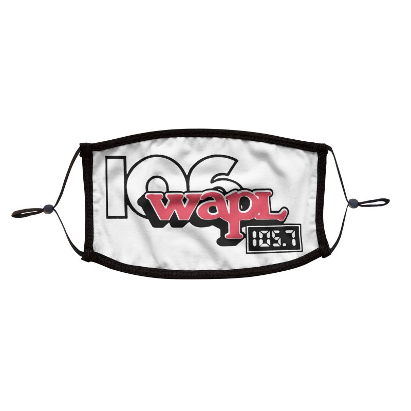 WAPL Digital Transition Logo Accessories Face Mask by 105.7 WAPL Store