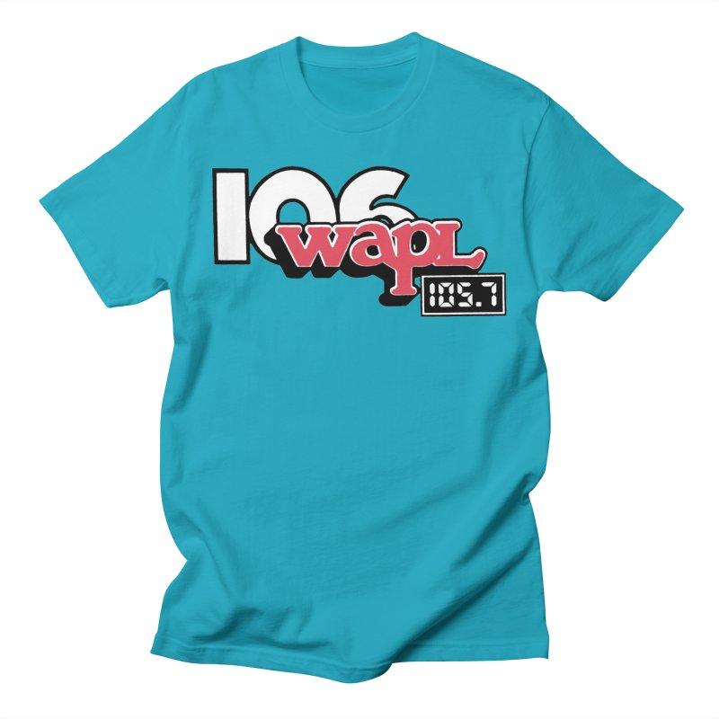 WAPL Digital Transition Logo Men's T-Shirt by 105.7 WAPL Store