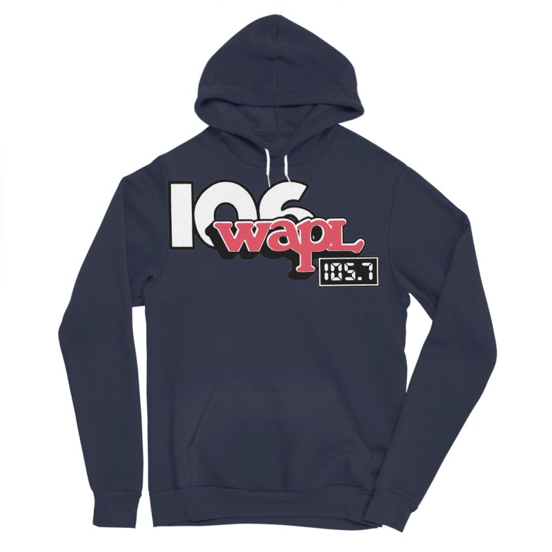 WAPL Digital Transition Logo Women's Sponge Fleece Pullover Hoody by 105.7 WAPL Web Store