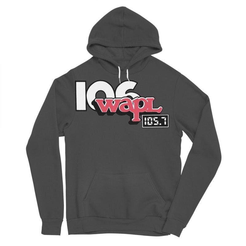 WAPL Digital Transition Logo Men's Sponge Fleece Pullover Hoody by 105.7 WAPL Web Store