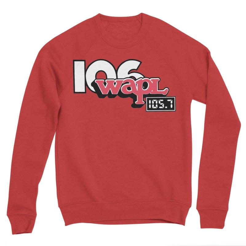 WAPL Digital Transition Logo Men's Sponge Fleece Sweatshirt by 105.7 WAPL Web Store