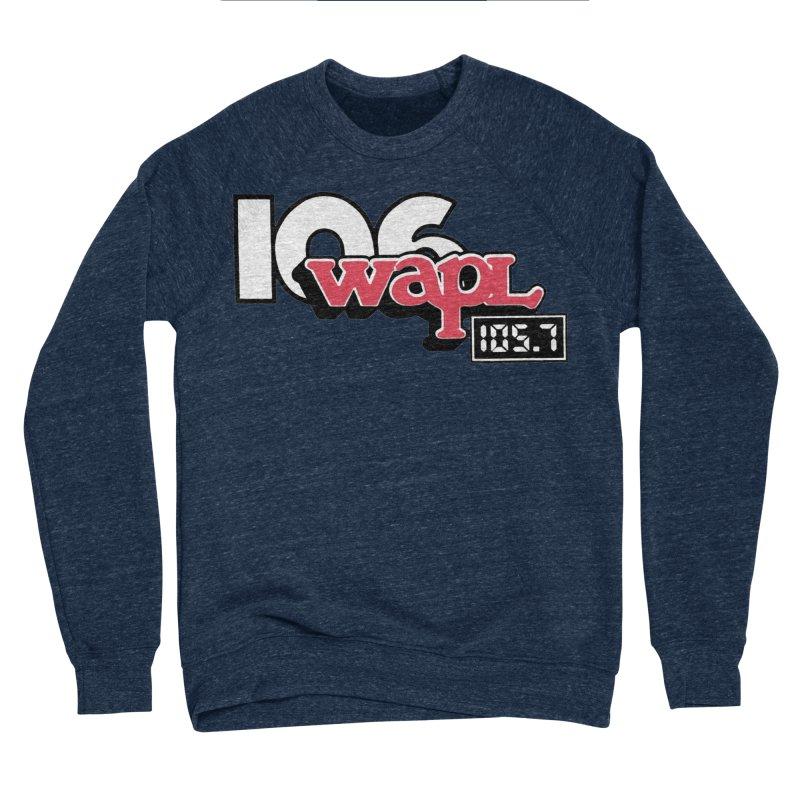 WAPL Digital Transition Logo Women's Sponge Fleece Sweatshirt by 105.7 WAPL Web Store