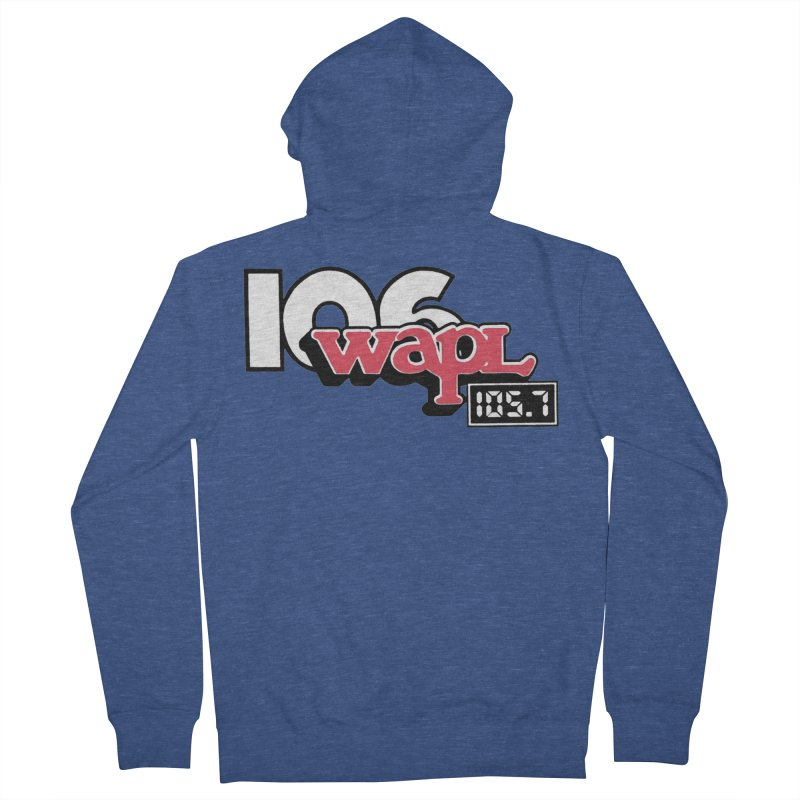 WAPL Digital Transition Logo Men's French Terry Zip-Up Hoody by 105.7 WAPL Web Store