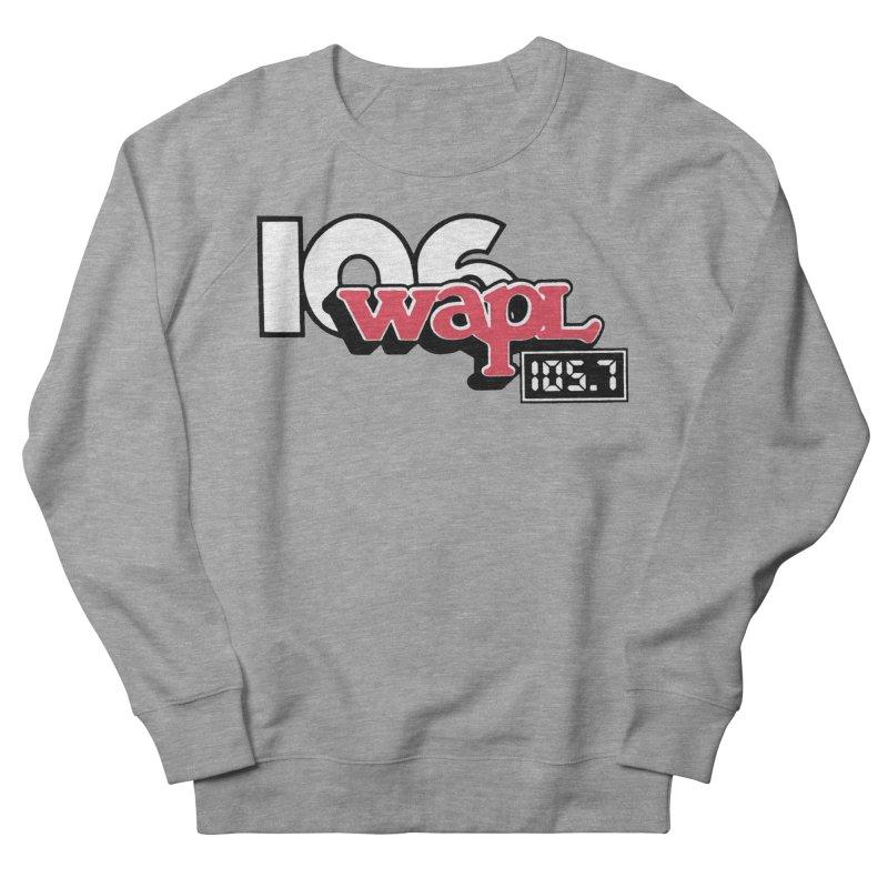 WAPL Digital Transition Logo Women's French Terry Sweatshirt by 105.7 WAPL Web Store