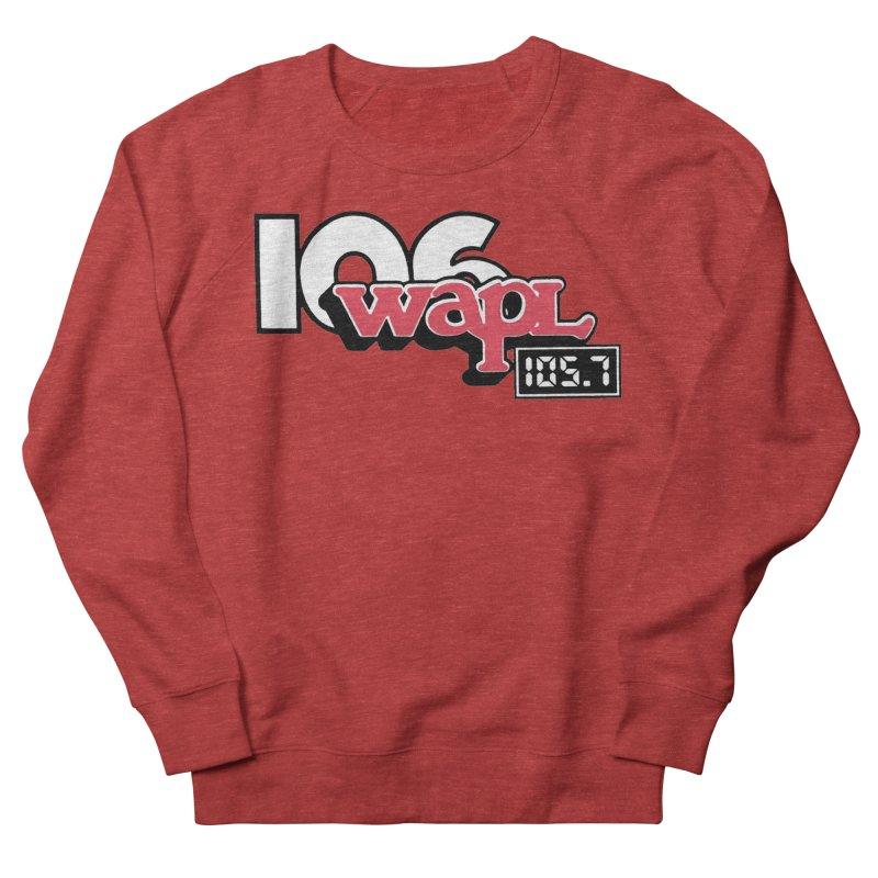 WAPL Digital Transition Logo Men's French Terry Sweatshirt by 105.7 WAPL Web Store