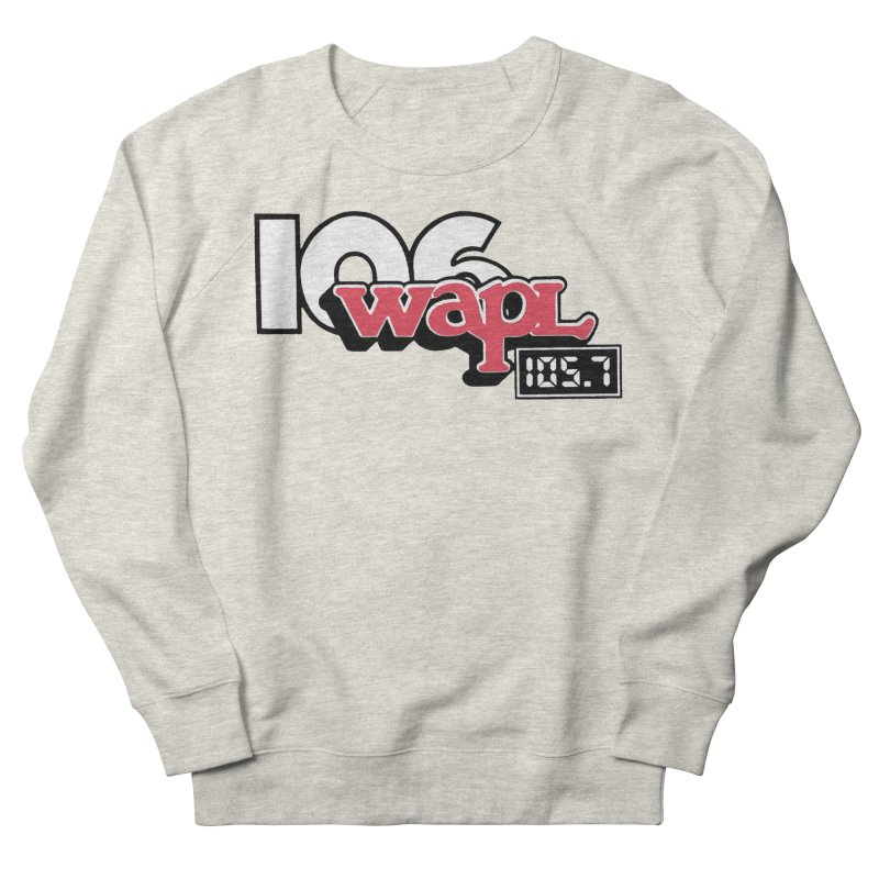 WAPL Digital Transition Logo Men's French Terry Sweatshirt by 105.7 WAPL Web Store
