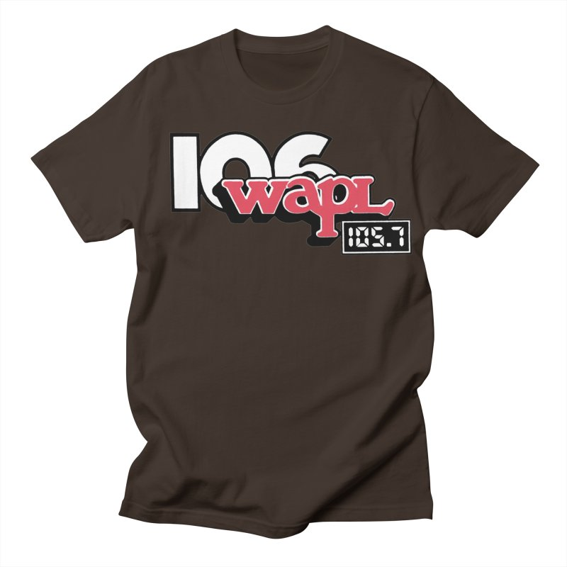 WAPL Digital Transition Logo Men's T-Shirt by 105.7 WAPL Store