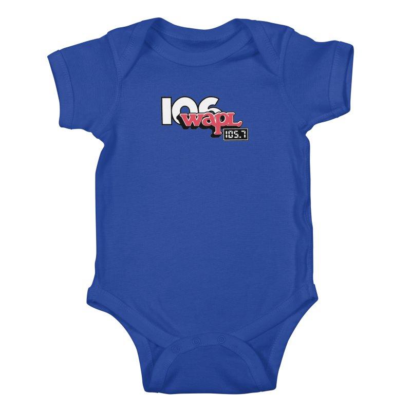 WAPL Digital Transition Logo Kids Baby Bodysuit by 105.7 WAPL Web Store