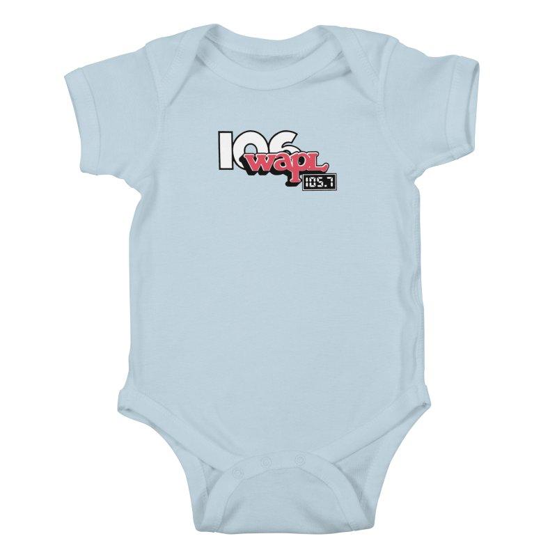WAPL Digital Transition Logo Kids Baby Bodysuit by 105.7 WAPL Store
