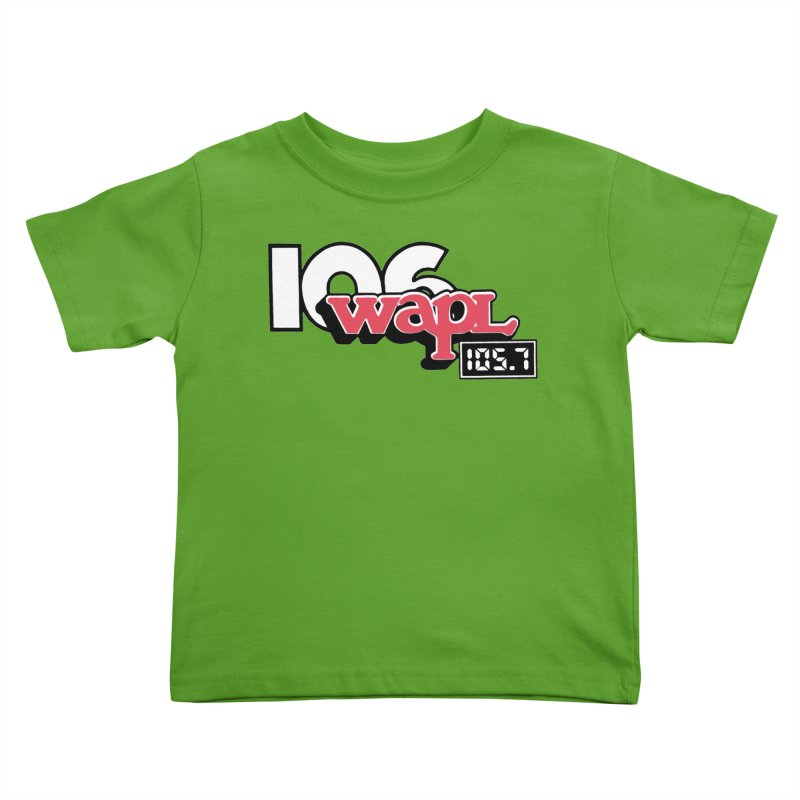 WAPL Digital Transition Logo Kids Toddler T-Shirt by 105.7 WAPL Store