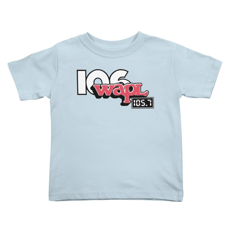 WAPL Digital Transition Logo Kids Toddler T-Shirt by 105.7 WAPL Web Store