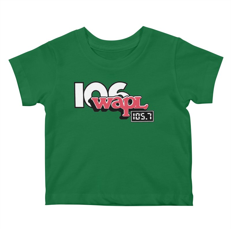 WAPL Digital Transition Logo Kids Baby T-Shirt by 105.7 WAPL Web Store
