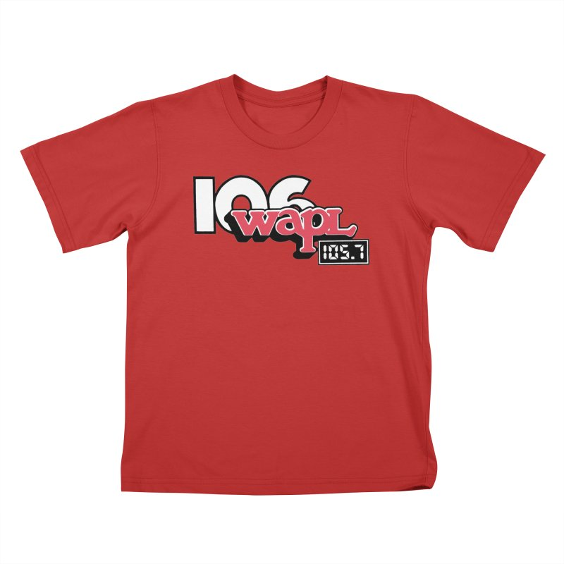WAPL Digital Transition Logo Kids T-Shirt by 105.7 WAPL Store