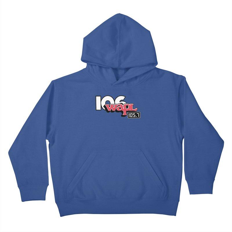 WAPL Digital Transition Logo Kids Pullover Hoody by 105.7 WAPL Store